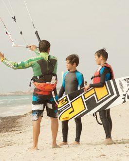 Anfängerkurs Kitesurfen 1 Lesson