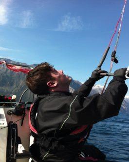 kommen und versuchen, Kitesurfen